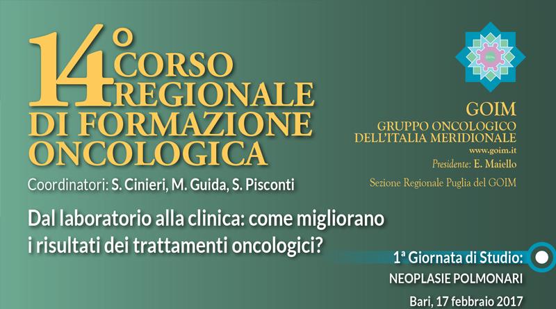 14° Corso Regionale di Formazione Oncologica – 2° Giornata
