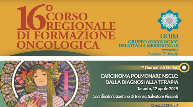 CARCINOMA POLMONARE NSCLC: DALLA DIAGNOSI ALLA TERAPIA